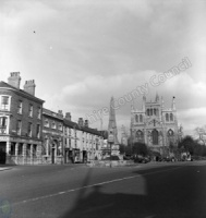 Selby Cross and Abbey